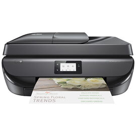 HP OfficeJet 5255 All-in-One Printer - Black - M2U75A#B1H