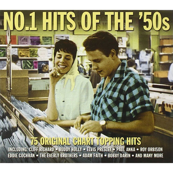 Various Artists - No. 1 Hits of the 50s - 3 CD
