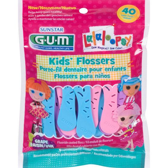 G.U.M Lalaloopsy Kids Flossers - 40's