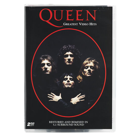 QUEEN GREATEST VIDEO HITS - DVD