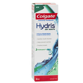 Colgate Hydris Dry Mouth Toothpaste - Hydra Mint - 88ml