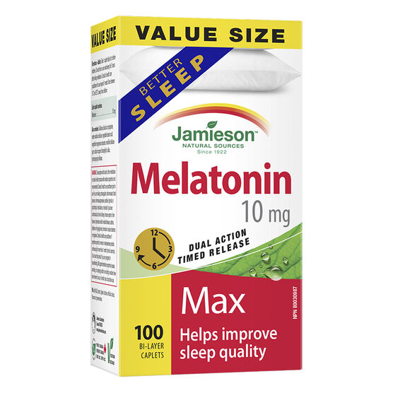 Jamieson Melatonin Max 10 mg - 100's
