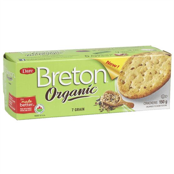 Breton Organic Crackers - 7 Grain - 150g