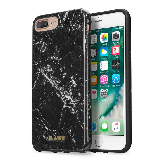 Laut Huex Elements iPhone 7 Plus Case - Marble Black - LAUTIP7PHXEMB