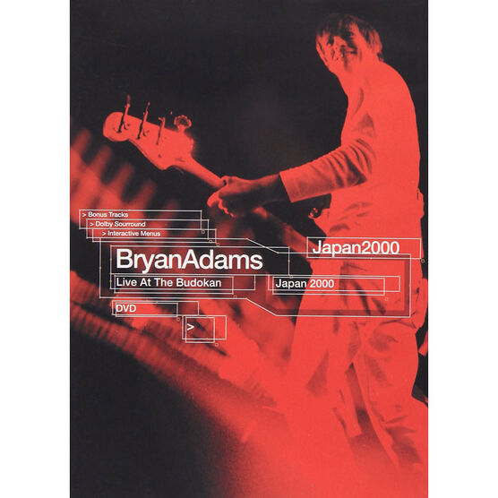 Bryan Adams - Live at the Budokan - DVD