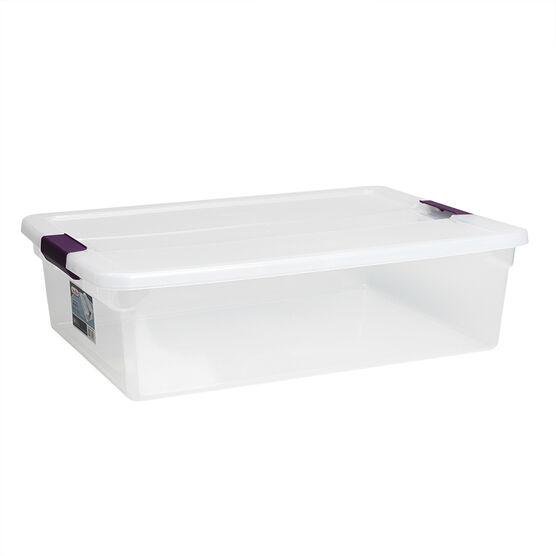 Sterilite ClearView Latch™ Box - Clear - 30L