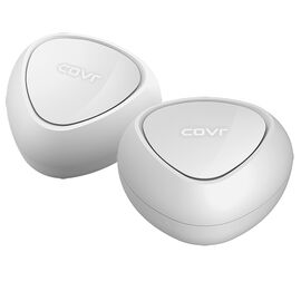 D-Link Covr AC1200 Dual Band Whole Home Mesh Wi-Fi System - 2 Pack - White - COVR-C1202