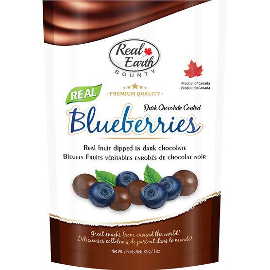 Real Earth Bounty Dark Chocolate - Blueberries - 85g