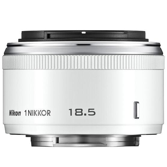 Nikon 1 18.5mm f1.8 Lens - White - 3324 - Open Box Display Model