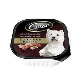 Pedigree Cesar Dog Food - Chicken and Beef - 100g