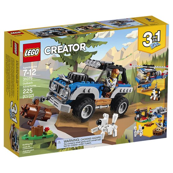LEGO Creator 3in1 - Outback Adventures