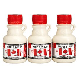 L.B. Maple Treat Maple Syrup - 3 x 100ml