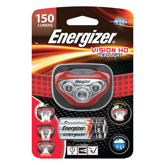 Energizer Vision HD LED Headlight - HDB32E/150