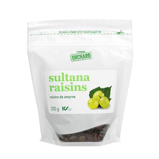 London Orchards Sultana Raisins - 200g