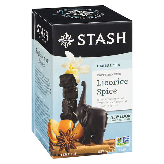 Stash Licorice Spice Herbal Tea - 20's