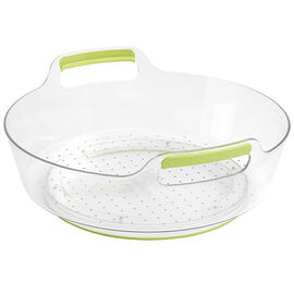 MadeSmart Fridge Turntable Container - Green/Clear - Tall