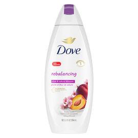Dove Go Fresh Rebalance Body Wash - Plum & Sakura Blossom - 354ml