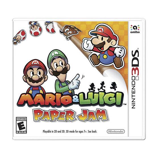 3DS Mario & Luigi Paper Jam