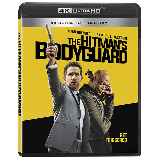 The Hitman's Bodyguard - UHD 4K Blu-ray