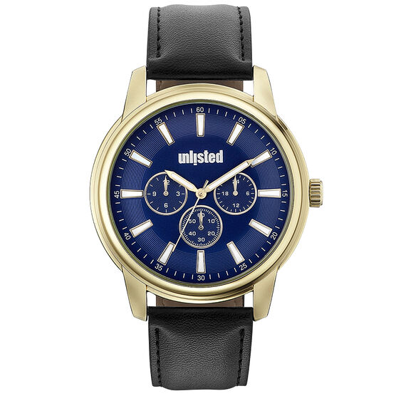 Unlisted by Kenneth Cole Men's Chronograph Watch - 10031972