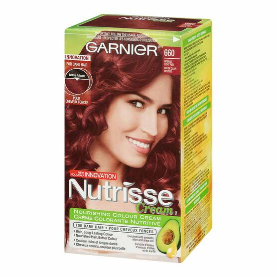 Garnier Nutrisse Permanent Hair Colour - 660 Merlot | London Drugs