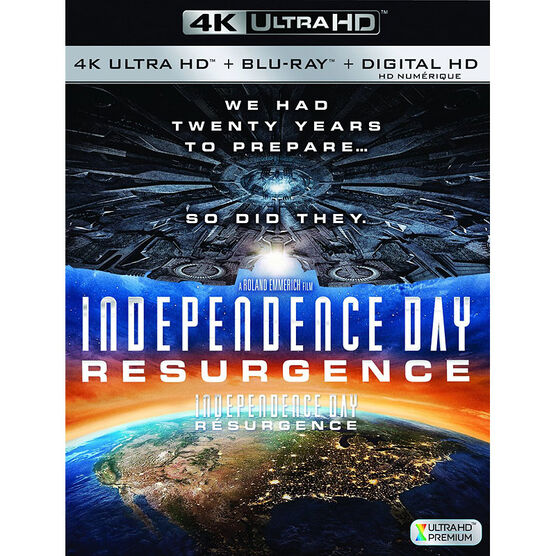 Independence Day 2: Resurgence - 4K UHD Blu-ray