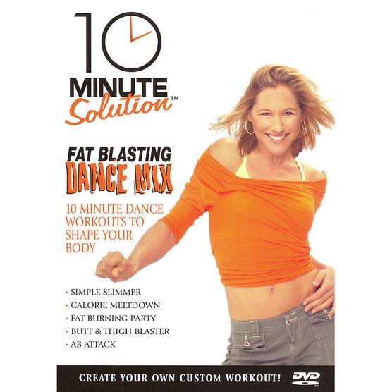 10 Minute Solution: Fat Blasting Dance Mix - DVD