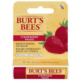 Burt's Bees Moisturizing Lip Balm - Strawberry - 4.25g