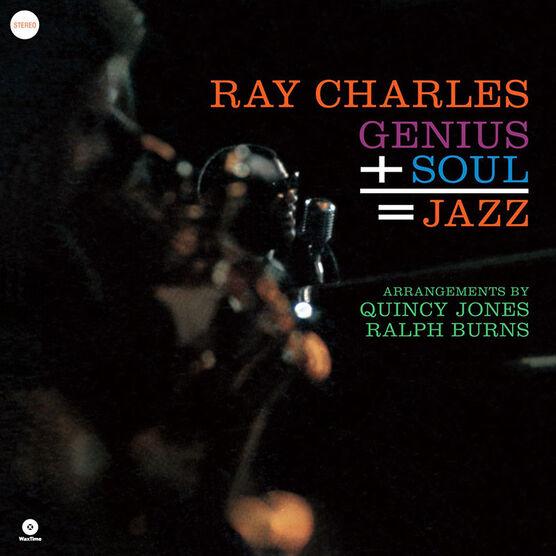 Ray Charles - Genius + Soul = Jazz - Vinyl