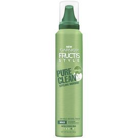 Garnier Fructis Pure Clean Mousse - Ultra Strong Hold - 182g
