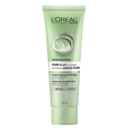 L'Oreal Pure-Clay Cleanser - Purifying & Mattifying - 130ml