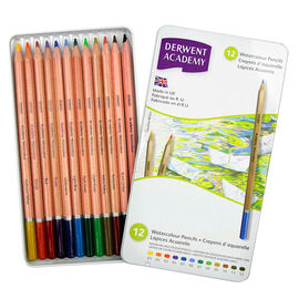 Derwent Academy Watercolour Pencils - 12's