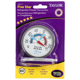 Taylor Refrigerator/Freezer Thermometer - 5996-44