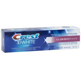 Crest 3D White Luxe Toothpaste - Glamorous White - 100ml