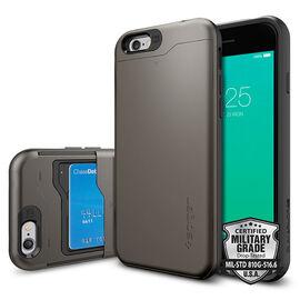 Spigen Slim Armor Case for iPhone 6/6s - Gunmetal - SGP10964