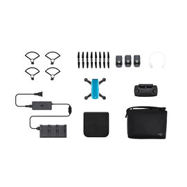 DJI Spark Fly More Combo and Battery Bundle - Blue - PKG #25564