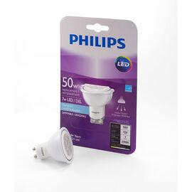 Philips GU10 LED Light Bulb - Daylight - 7w/50w