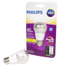 Philips A15 LED Medium Base Lightbulb - Soft White - 5.5w/40w