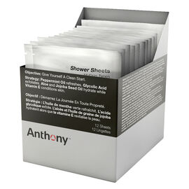 Anthony Shower Sheets - 12s
