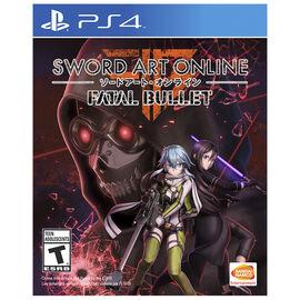 PS4 Sword Art Online - Fatal Bullet