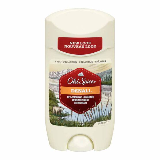 Old Spice Fresh Collection Anti-Perspirant & Deodorant - Denali - 73g