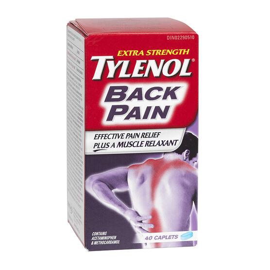 Tylenol* Extra Strength Back Pain - 40's