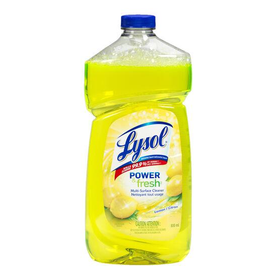 Lysol Multi Surface Cleaner - Citrus - 800ml