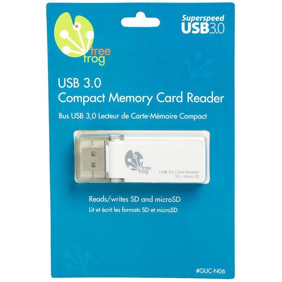 Tree Frog USB 3.0 SD/Micro SD Card Reader - GUC-N06