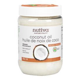 Nutiva Organic Coconut Oil - 860mL