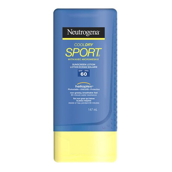 Neutrogena CoolDry Sport Sunscreen Lotion - SPF60 - 147ml