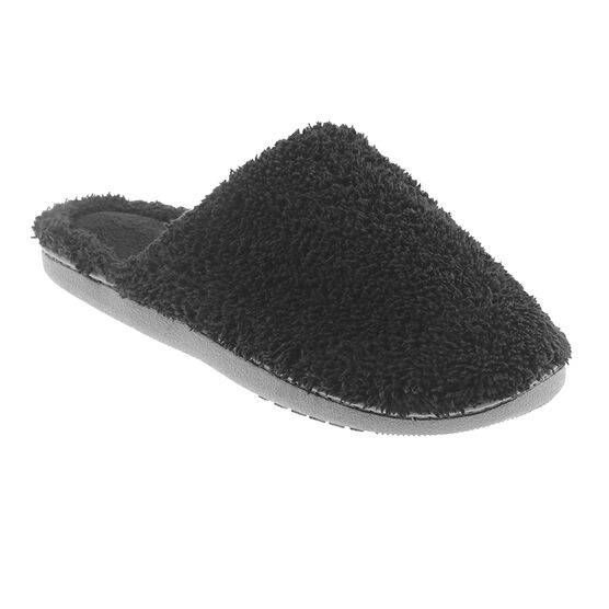 Isotoner ComforSoft Clog - Black - Medium