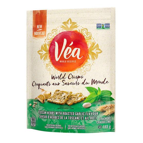 Vea World Crisp - Tuscan Herbs & Roasted Garlic - 141g