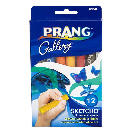 Prang Sketcho Oil Crayons - 12 pack