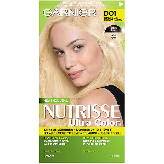 Garnier Nutrisse Ultra Color Permanent Hair Colour - D01 Extreme ...